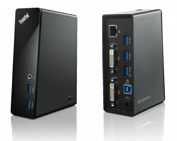 Lenovo NB USB 3.0 Dock /Port replicator w DV /