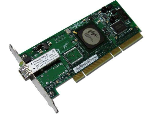 QLogic QLA2340 Single Port 2Gb FC HBA PCI-X, 24P0960 (felújított)