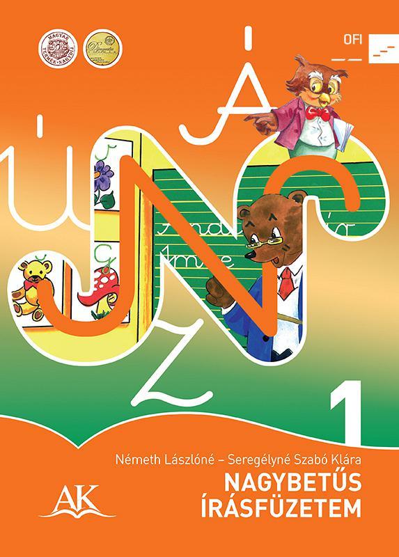 AP-010219 Nagybetűs írásfüzetem, Olvasásfüzet (NAT)