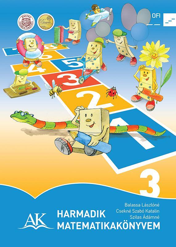 AP-030815 Harmadik matematikakönyvem 3. tankönyv NAT