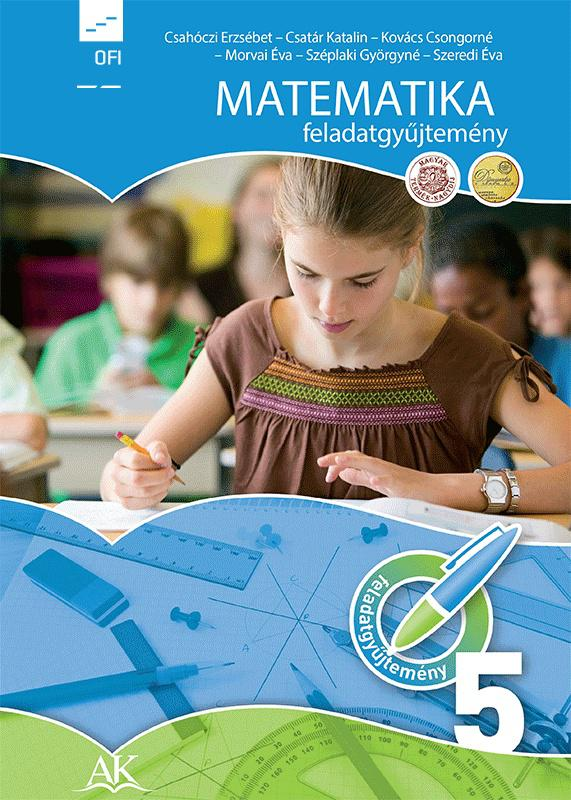 AP-050810 Matematika feladatgyűjtemény 5. (NAT) (Felmérő melléklettel)