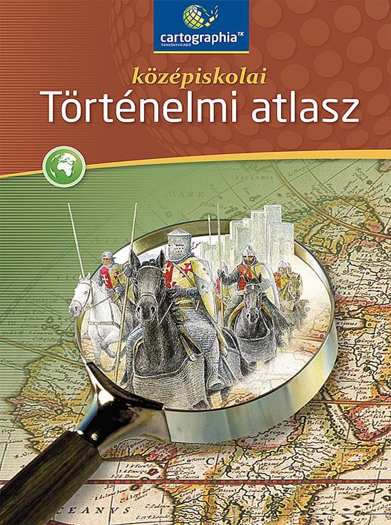 CR-0082/CR-0081 Középiskolai történelem atlasz