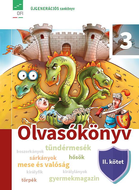 FI-501020302/1 Olvasókönyv tankönyv 3/2. Újgenerációs