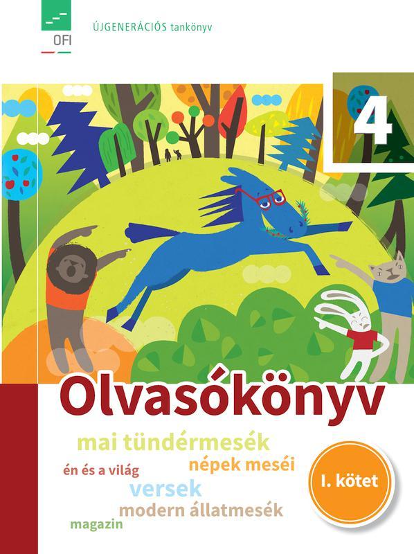 FI-501020401/1 Olvasókönyv 4. I. kötet - Újgenerációs tankönyv