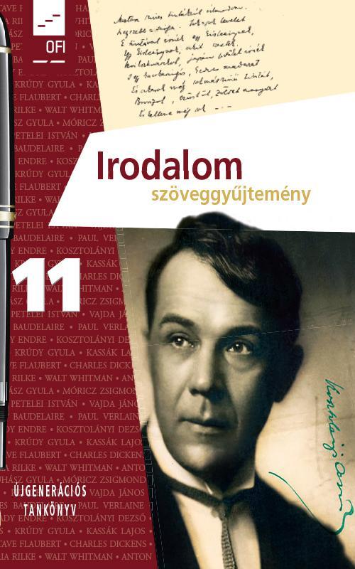 FI-501021102/1 Irodalom szöveggyűjtemény 11. - Újgenerációs tankönyv