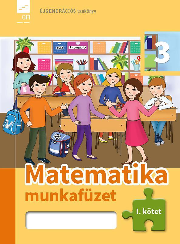 FI-503010302/1 Matematika munkafüzet 3/1. Újgenerációs