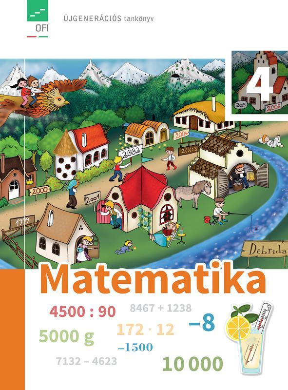 FI-503010401/1 Matematika tankönyv 4. - Újgenerációs tankönyv