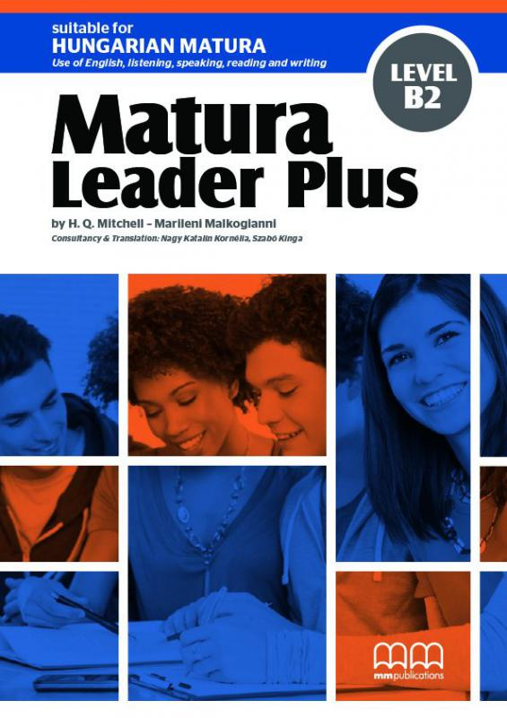Matura Leader Plus B2 (Hungarian edition) Student's Book (incl. CD-ROM)