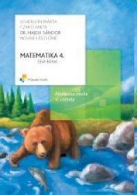 MK-4180-5 Matematika 4. Tankönyv, Első kötet és Matematika 4. Gyakorló, első kötet