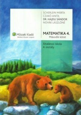 MK-4181-3 Matematika 4. Tankönyv, második kötet - Matematika 4. Gyakorló, második kötet