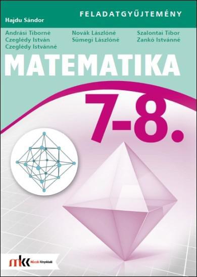 MK-4212-7 Matematika 7–8. Feladatgyűjtemény