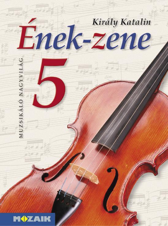 MS-2455U Ének-zene tankönyv 5. osztály