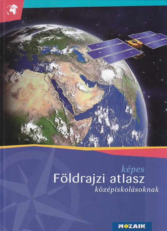 MS-4109U/MS-4109 Képes földrajzi atlasz középiskolásoknak