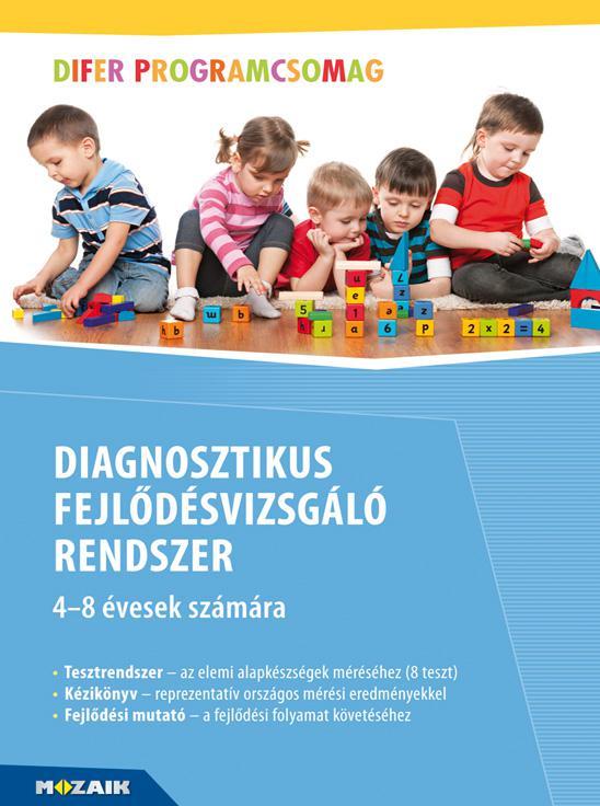 MS-9321 Diagnosztikus fejlődésvizsgáló rendszer - Tesztrendszer, Kézikönyv, fejlődési mutató - DIFER mappa tartozékokkal