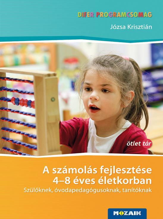 MS-9334 DIFER - A számolás fejlesztése 4-8 éves életkorban - Tanári kézikönyv