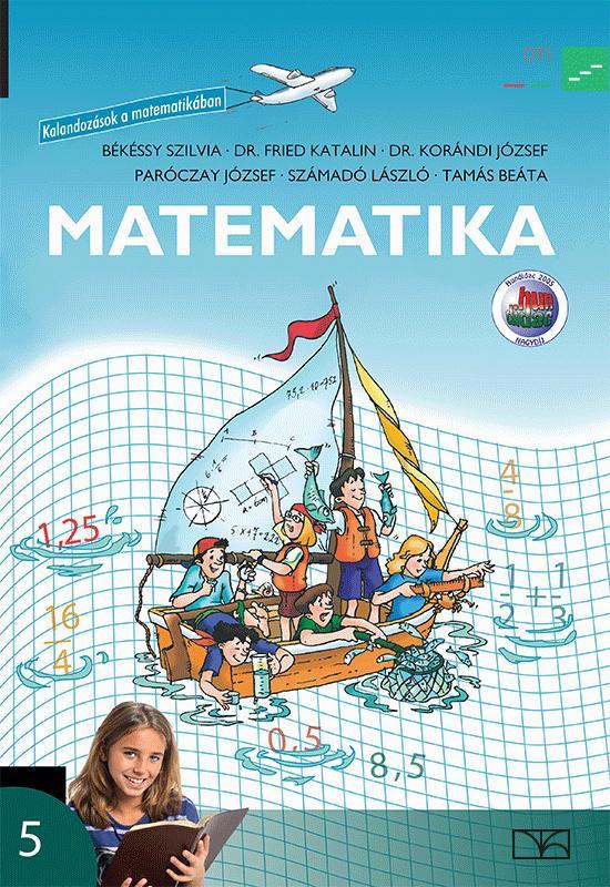 NT-11580/T Matematika 5. tankönyv - Kalandozások a matematikában - tartós
