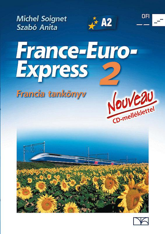 NT-13298/NAT France-Euro-Express 2. francia tankönyv + CD