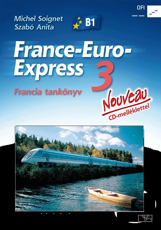 NT-13398/NAT France-Euro-Express Nouveau 3. francia tankönyv + CD