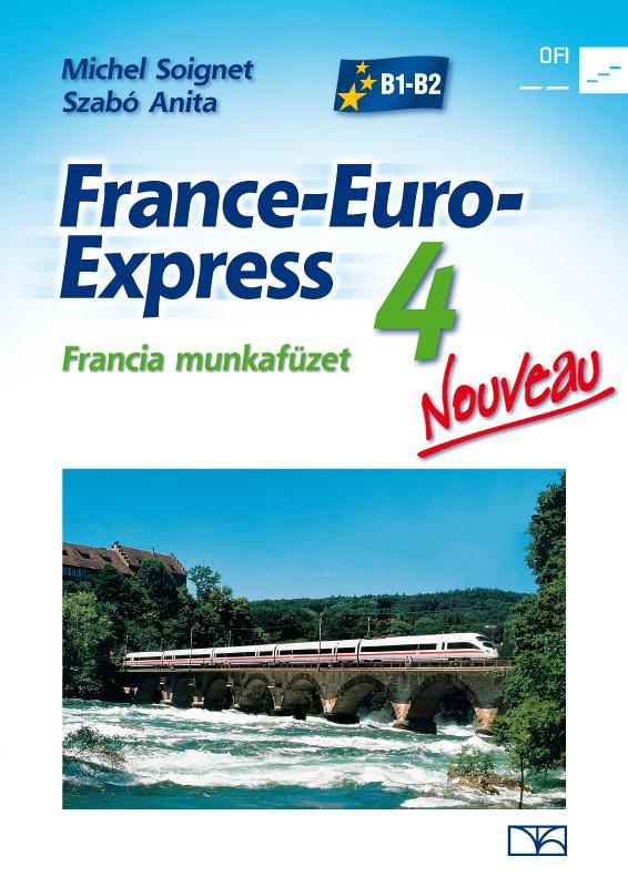 NT-13498/M/NAT France-Euro-Express Nouveau 4. fancia munkafüzet