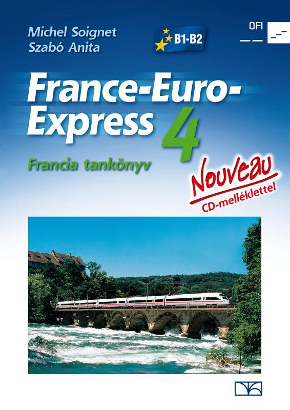 NT-13498/NAT France-Euro-Express Nouveau 4. fancia tankönyv + CD