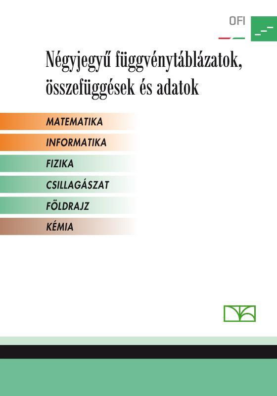 NT-16129/NAT Négyjegyű függvénytáblázatok - Matematika, informatika, fizika, csillagászat