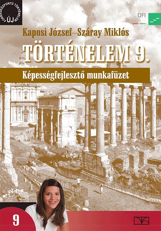 NT-17142/M Történelem 9. Képességfejlesztő munkafüzet