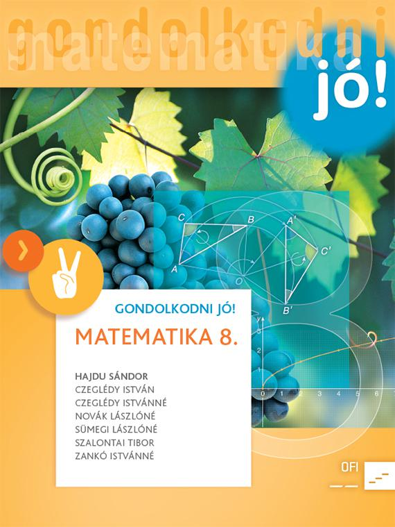 NT-4319-0/UJ (MK-4319-0/UJ) Matematika 8. GONDOLKODNI JÓ! tankönyv