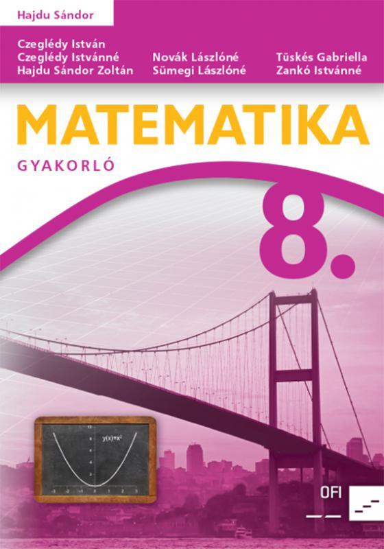 NT-4321-3 (MK-4321-3) Matematika 8. Gyakorló