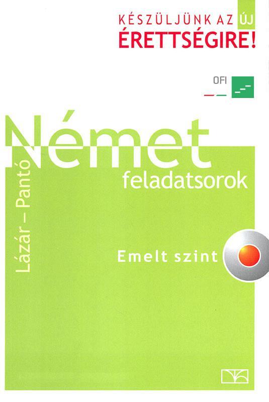 NT-56471/NAT Német érettségi feladatsorok - emelt szint + CD