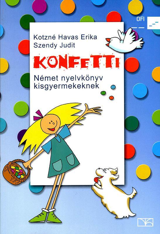 NT-56481 Konfetti - Német nyelvkönyv kisgyermekeknek