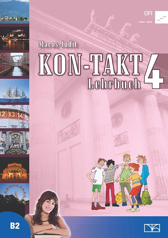NT-56544 KON-TAKT 4. Lehrbuch Tankönyv