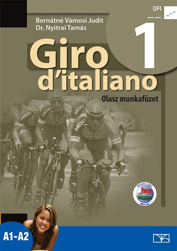 NT-56551/M/NAT Giro d italiano 1 olasz munkafüzet