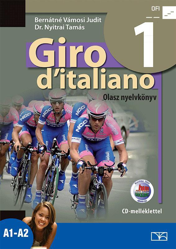 NT-56551/NAT Giro d Italiano 1. olasz nyelvkönyv