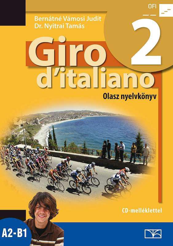 NT-56552/NAT Giro d Italiano 2. olasz nyelvkönyv + CD