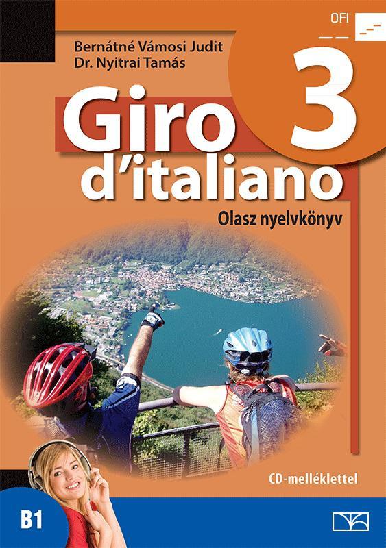 NT-56553/NAT Giro d Italiano 3. olasz nyelvkönyv tankönyv + CD