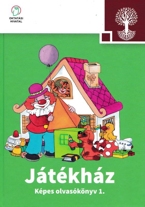 NT-98488/MT/1 Játékház Képes olvasókönyv az általános iskola 1. osztálya számára