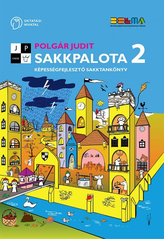 OH-SAK02T Sakkpalota 2 Képességfejlesztő sakktankönyv