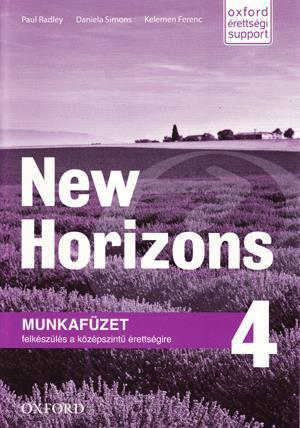 OX-4134668 New Horizons 4. WB (Workbook - Munkafüzet)