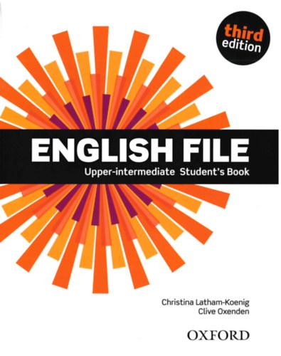 OX-4558747 English File Upper-intermediate SB with DVD-ROM Third edition (Student's Book - Tankönyv)
