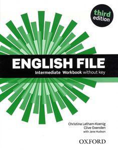 OX-4597104 English File Intermediate WB without key Third edition (Workbook - Munkafüzet)