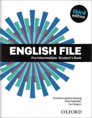 OX-4598651 English File Pre-Intermediate SB with DVD-ROM - Third edition (Student's Book - Tankönyv)