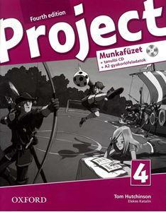 OX-4764933 Project 4 th Ed. 4 HWB+Multirom (Workbook - Munkafüzet) Fourth Edition - Negyedik kiadás