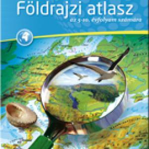 CR-0022/CR-0021 Földrajzi atlasz a 5-10. évfolyam számára