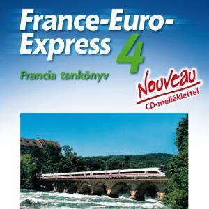 NT-13498/NAT France-Euro-Express Nouveau 4. fancia tankönyv + CD