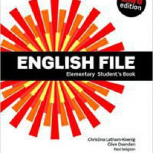 OX-4598644 English File Elementary SB with DVD-ROM - Third edition (Student's Book - Tankönyv)