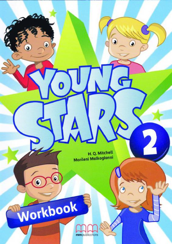 Young Stars 2 Workbook + CD