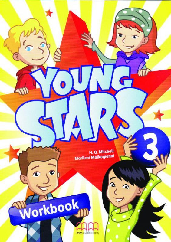 Young Stars 3 Workbook + CD