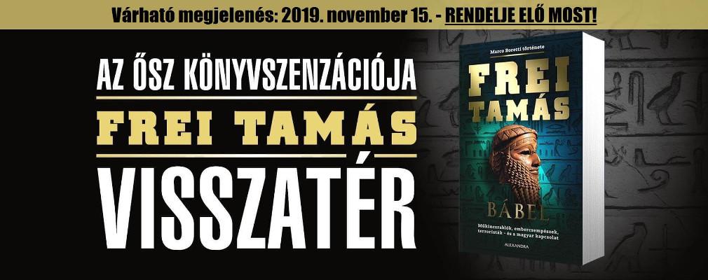 FREI TAMÁS VISSZATÉR