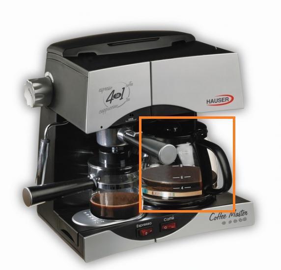 Hauser CE-930 hosszú kávé (tea) kiöntő