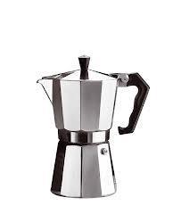 Kotyogó kávéfőző, 3 személyes, aluminium
